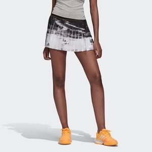 NWT Adidas New York Tennis Pleated Skirt Size Med